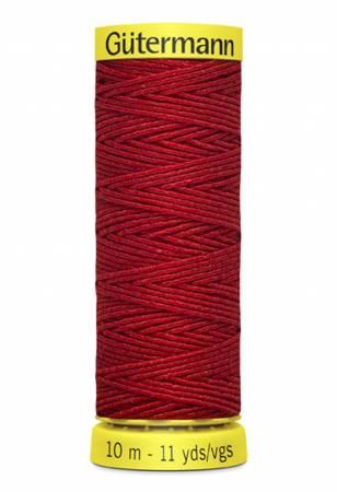 Gutermann - Elastic Thread 11yds - Red