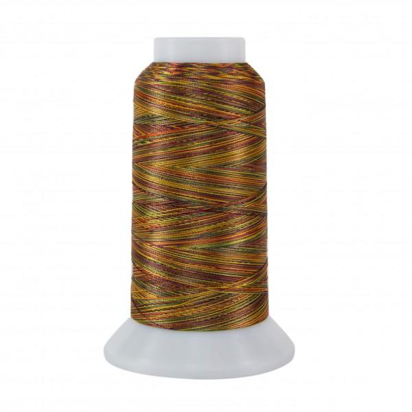 Rainbows Polyester Thread 40wt 2000 yds Cone Brass Band
