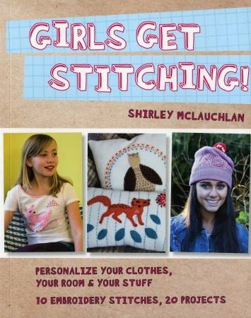 Girls Get Stitching - Softcover