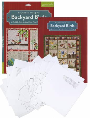 Backyard Birds Pattern