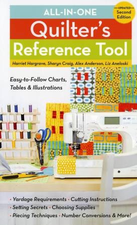 All-in-One Quilter's Reference Tool Updated - Softcover