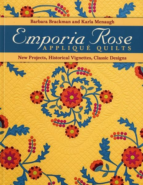 Emporia Rose Applique Quilts - Softcover