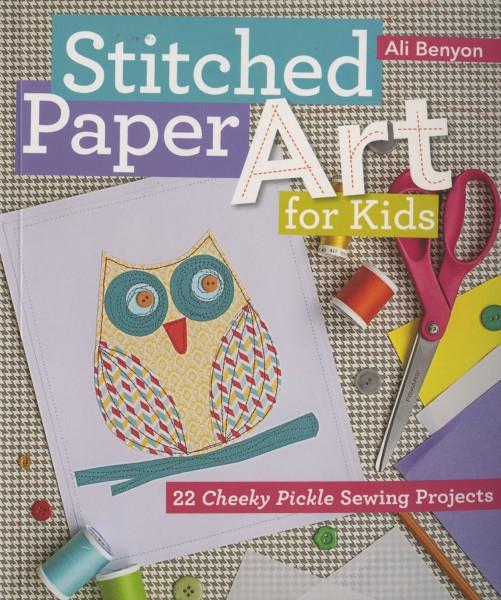 Stitched Paper Art - Softcover