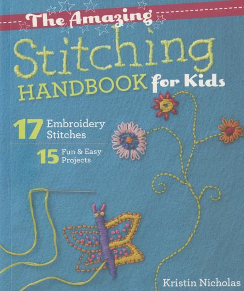BK E The Amazing Stitching Handbook for Kids