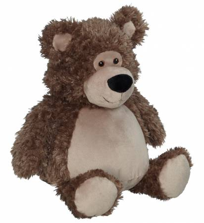 Embroider Buddy Bobby Bear, Brown