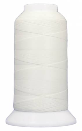 ExtraGlow Polyester Glow In The Dark Thread 40wt 500yds White