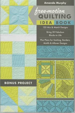 Free-Motion Quilting Idea Book- Softcover