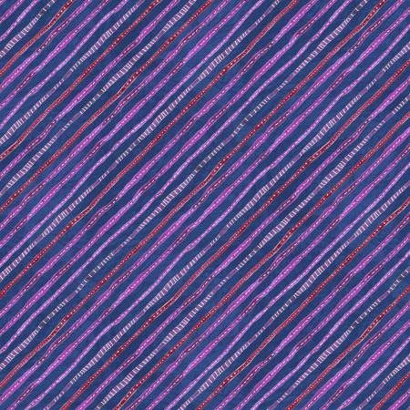 Dark Blue Ticking Stripe
