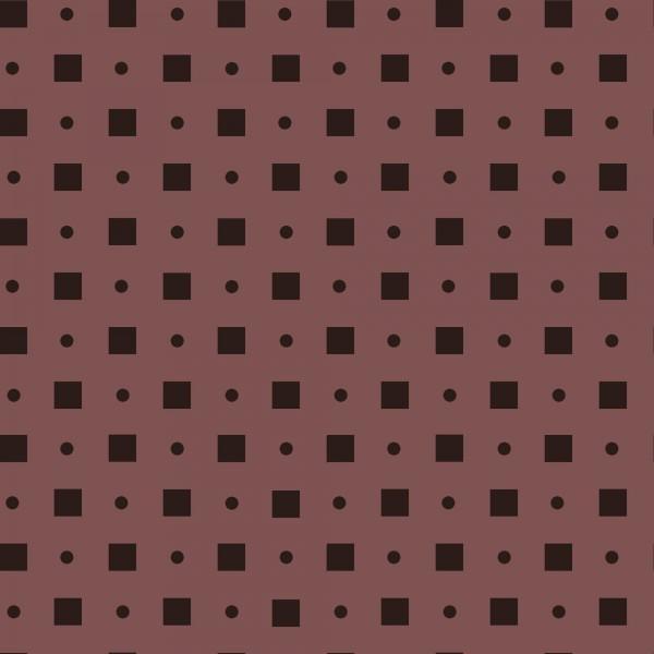 Blush Square Dot Pearlized