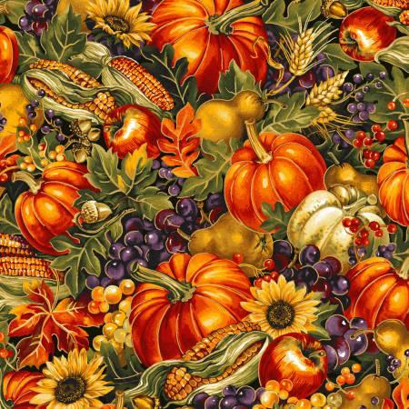 Fall Bountiful Harvest w/Metallic
