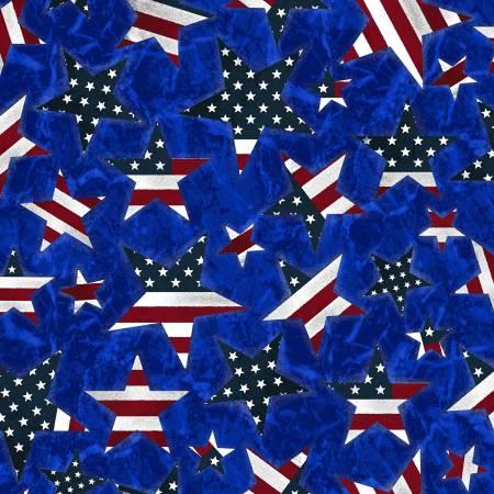 Fabri-Quilt American Pride Patriotic Stars