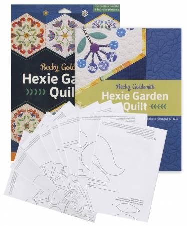 Hexie Garden Quilt - Softcover