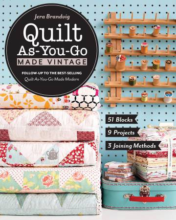 Quilt As You-Go Made Vintage - Softcover