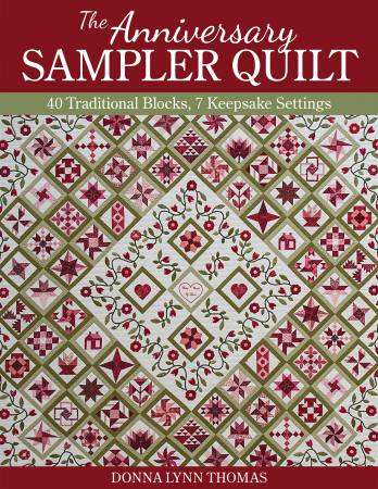 Anniversary Sampler Quilt - Softcover