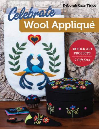 Celebrate Wool Applique