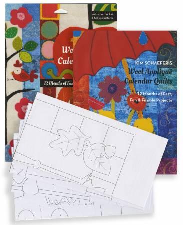Kim Schaefer's Wool Applique Calendar