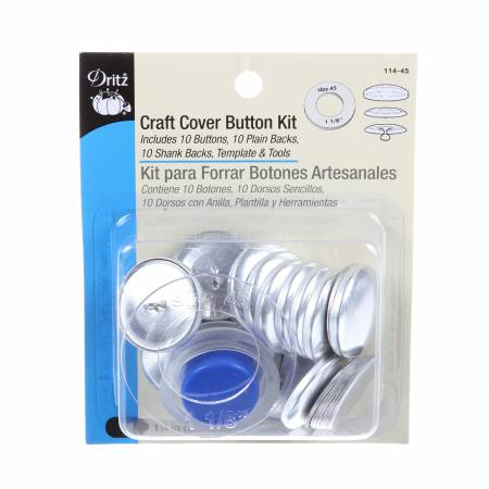 Craft Cover Button Kit SZ45 - 1-1/8in