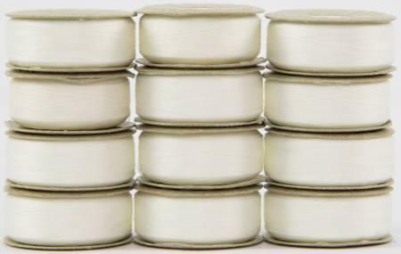 Bobbin M Style Prewound SuperBobs White 12ct