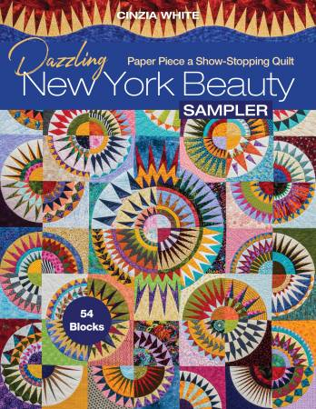 Dazzling New York Beauty Sampler Quilt Book
