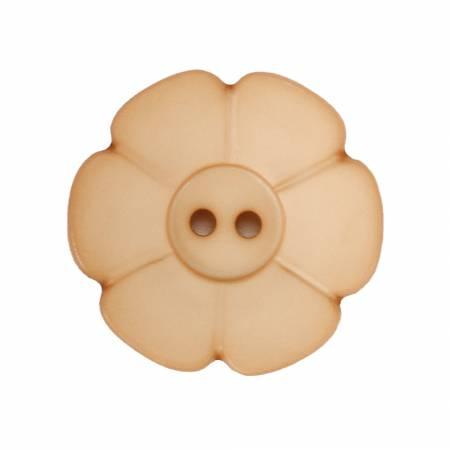 Buttons - 114501 Tan Flower