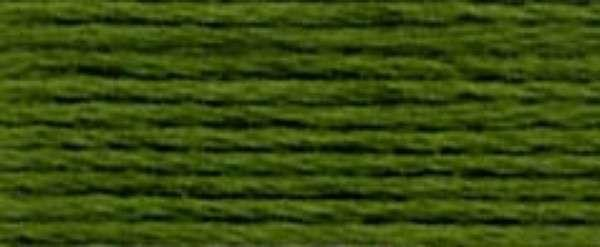 Pearl Cotton Skein Size 5 Medium Avocado Green