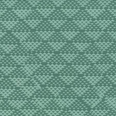 Fabric Hoffman Mint Hand-dyed Batik