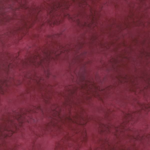 Magenta Marble Batik