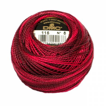Perle Cotton #8 115 Varigated
