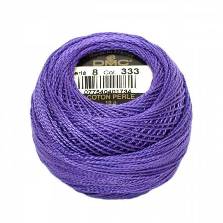 DMC Perle Cotton Size 8 333 Dark Blue Violet