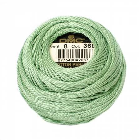DMC Perle Cotton 8 0368 Light Pistachio Green
