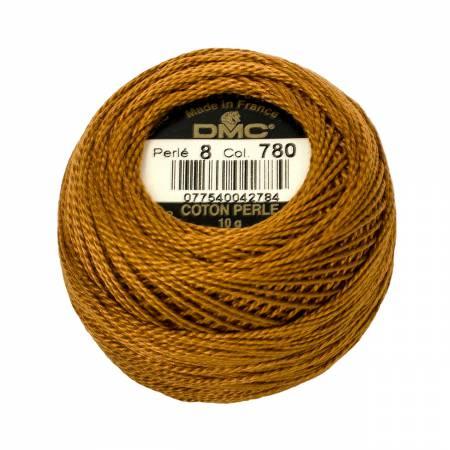 DMC Perle Cotton Size 8 0780 Ultra Very Dark Topaz