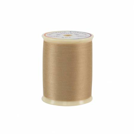 So Fine Polyester Thread 3-ply 50wt 550yds Cashew, 405
