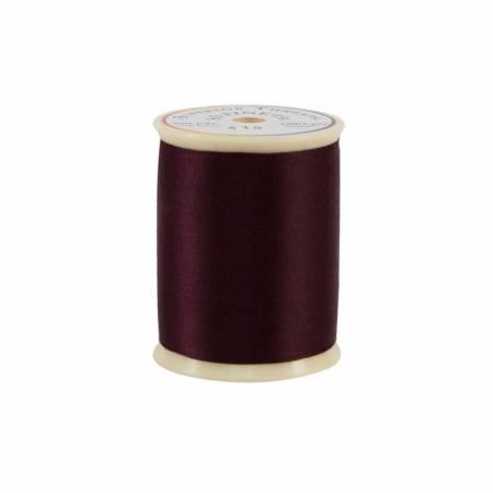 So Fine Polyester Thread 3-ply 50wt 550yds 415 Cherrywood