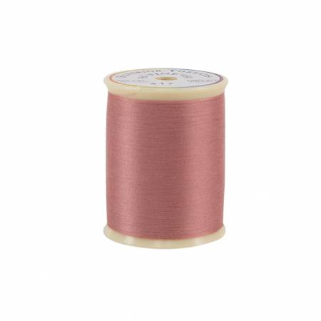So Fine Polyester Thread 3-ply 50wt 550yds 417 Antique Rose