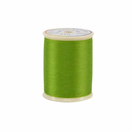 So Fine Polyester Thread 3-ply 50wt 550yds Spring Green, 450