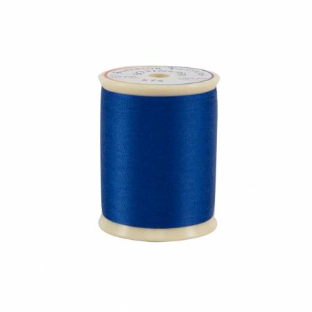 So Fine Polyester Thread 3-ply 50wt 550yds Billings Blue, 474