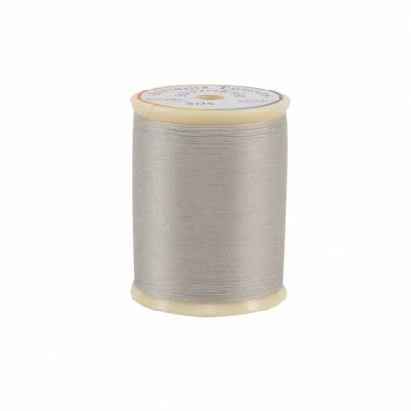So Fine Polyester Thread 50wt 550yd Silver Screen, 504