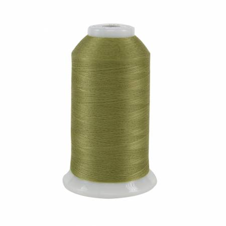 So Fine Polyester Thread 3-ply 50wt 3280yds Celery #449