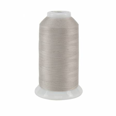 504 - Superior - So Fine Polyester Thread 3-ply 50wt 3280yds Silver Screen