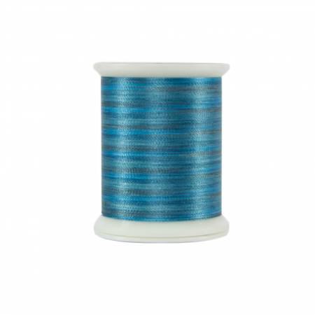 Fantastico Variegated Trilobal Polyester 500yd Mixed Turquoise
