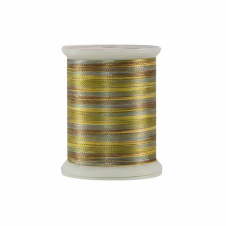 Fantastico Variegated Trilobal Polyester 500yd Dijon Mustard 5132