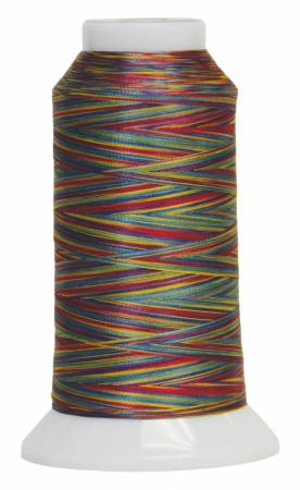 Fantastico Variegated Trilobal Polyester 2000yd Stained Glass 5011