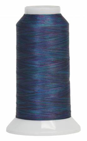 Fantastico Variegated Trilobal Polyester 2000yd Batik Blue 5021