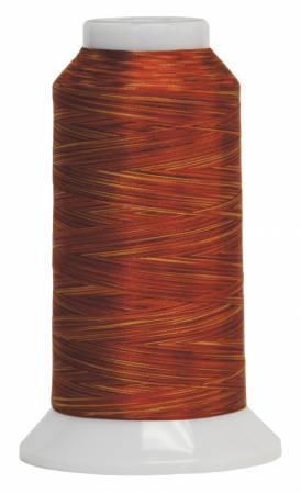 Fantastico Variegated Trilobal Polyester 2000yd Blaze 5045