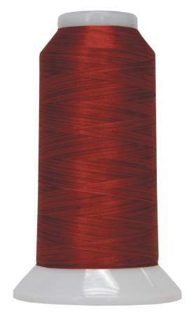 Fantastico Variegated Trilobal Polyester 2000yd Bullfighter Red