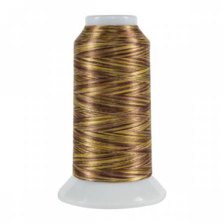 Fantastico Variegated Trilobal Polyester 2000yd English Toffee