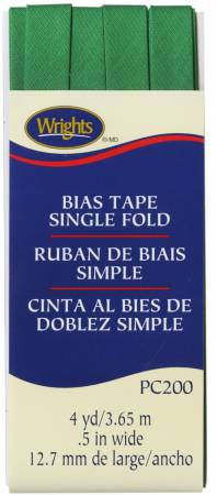Single Fold Bias Tape Emerald