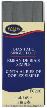 Single Fold Bias Tape Light Grey