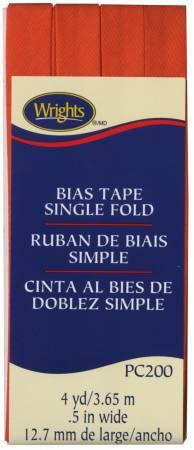 Single Fold Bias Tape Orange