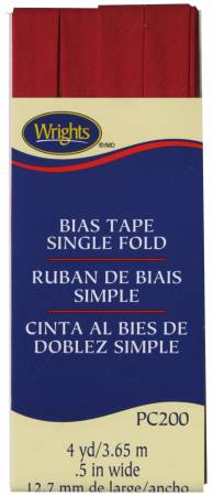 Single Fold Bias Tape Red